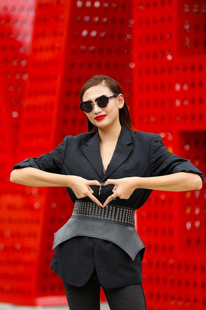 Giai ma gu thoi trang an tuong cua Vo Hoang Yen tai 'Vietnam's Next Top Model - All Stars' hinh anh 12