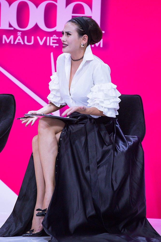 Giai ma gu thoi trang an tuong cua Vo Hoang Yen tai 'Vietnam's Next Top Model - All Stars' hinh anh 8