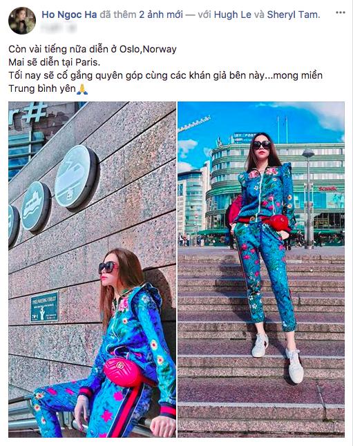 Ha Ho va Kim Ly mang giay doi dao pho, Tran Thanh mat hanh ly tai Na Uy hinh anh 1