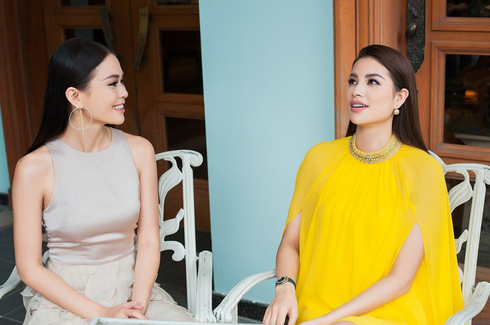 Mau Thuy khoe ve sexy, hoi ngo Phan Linh VNTM 2013 hinh anh 4