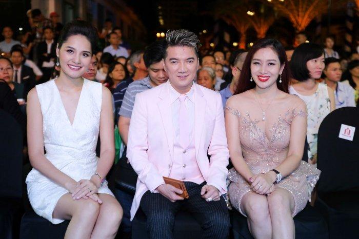 Dam Vinh Hung, HH Huong Giang, Hien Thuc doi mua, hoi ngo tai su kien hinh anh 4