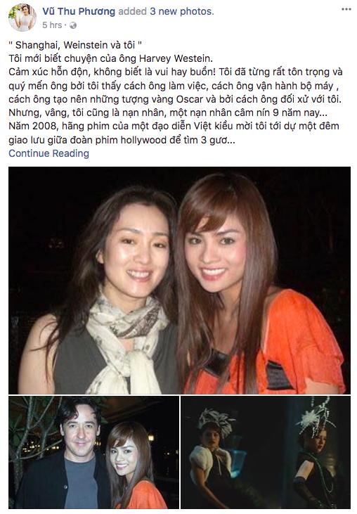 Soc: Vu Thu Phuong tung la nan nhan trong be boi tinh duc lon nhat Hollywood hinh anh 1