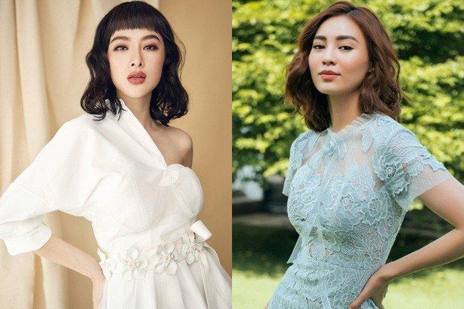 Ninh Duong Lan Ngoc to Angela Phuong Trinh chieu tro, chuyen ham hai dong nghiep hinh anh 1