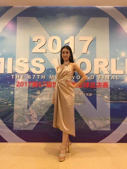 Do My Linh va hanh trinh den chien thang Hoa hau Nhan ai o Miss World 2017 hinh anh 6
