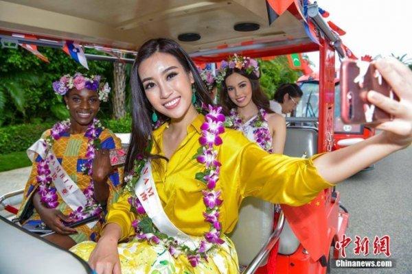 Do My Linh va hanh trinh den chien thang Hoa hau Nhan ai o Miss World 2017 hinh anh 14