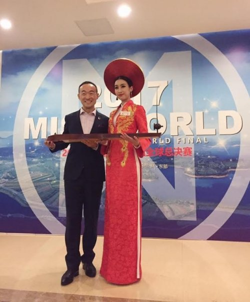 Do My Linh va hanh trinh den chien thang Hoa hau Nhan ai o Miss World 2017 hinh anh 7