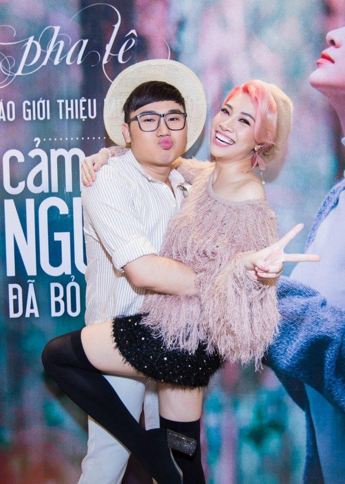 Pha Le va Kiwi Ngo Mai Trang than thiet tai su kien, xoa tan tin don hiem khich hinh anh 10