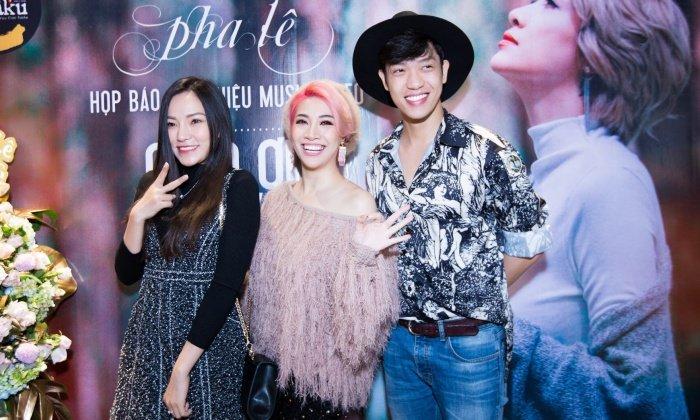Pha Le va Kiwi Ngo Mai Trang than thiet tai su kien, xoa tan tin don hiem khich hinh anh 6
