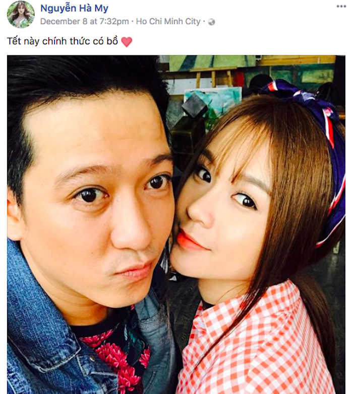 Ro tin Truong Giang chia tay Nha Phuong, hen ho hot girl Sam hinh anh 1