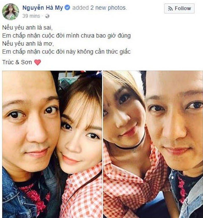 Ro tin Truong Giang chia tay Nha Phuong, hen ho hot girl Sam hinh anh 4
