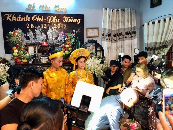 Nhung hinh anh dep nhat trong 'Dam cuoi the ky' cua 'Nu hoang chuyen gioi' Lam Khanh Chi hinh anh 3