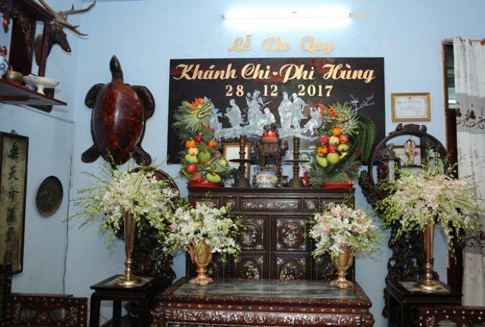 Lam Khanh Chi tinh cam hon me ruot trong le xuat gia hinh anh 5