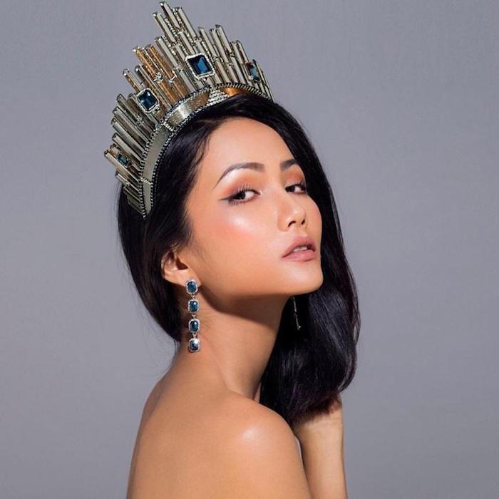 Nhan sac sexy, hien dai chuan quoc te cua tan Hoa hau Hoan vu Viet Nam 2017 H'Hen Nie hinh anh 3
