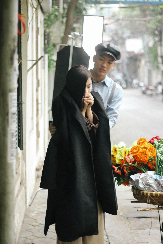 Dong Anh Quynh The Face vuong chuyen tinh tay ba trong MV moi cua Ho Trung Dung hinh anh 2
