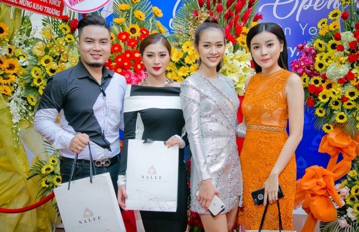 Kim Tuyen, Thanh Truc goi cam den chuc mung Diep Bao Ngoc len chuc ba chu hinh anh 7