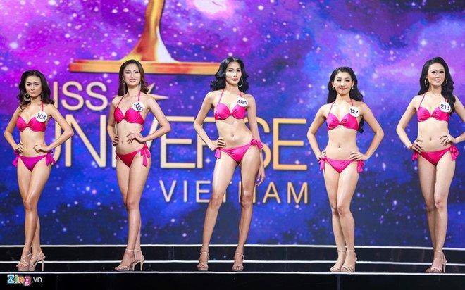 Video: Hoang Thuy nga manh tren san khau chung ket Hoa hau Hoan vu Viet Nam hinh anh 1