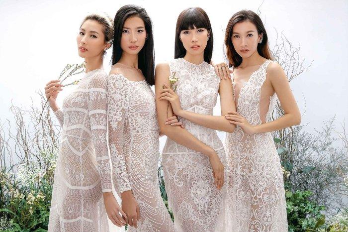 Hang Nguyen, Phan Linh Top Model do ve quyen ru trong trang phuc xuyen thau hinh anh 11