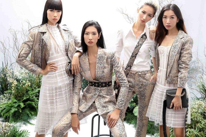 Hang Nguyen, Phan Linh Top Model do ve quyen ru trong trang phuc xuyen thau hinh anh 3