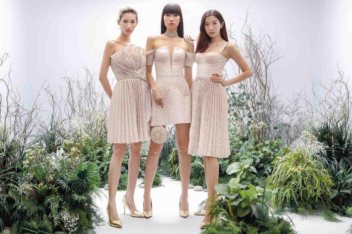 Hang Nguyen, Phan Linh Top Model do ve quyen ru trong trang phuc xuyen thau hinh anh 6