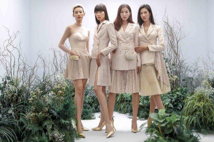 Hang Nguyen, Phan Linh Top Model do ve quyen ru trong trang phuc xuyen thau hinh anh 7