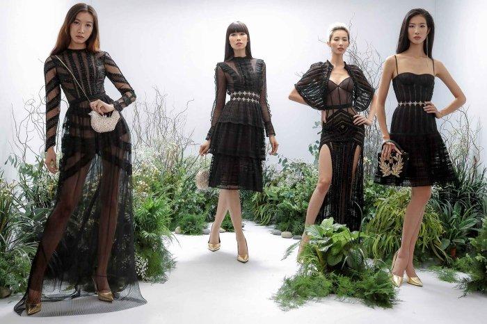 Hang Nguyen, Phan Linh Top Model do ve quyen ru trong trang phuc xuyen thau hinh anh 8