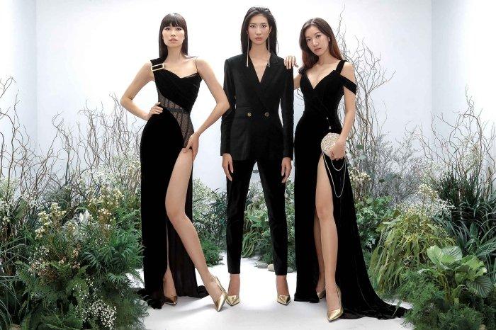 Hang Nguyen, Phan Linh Top Model do ve quyen ru trong trang phuc xuyen thau hinh anh 9