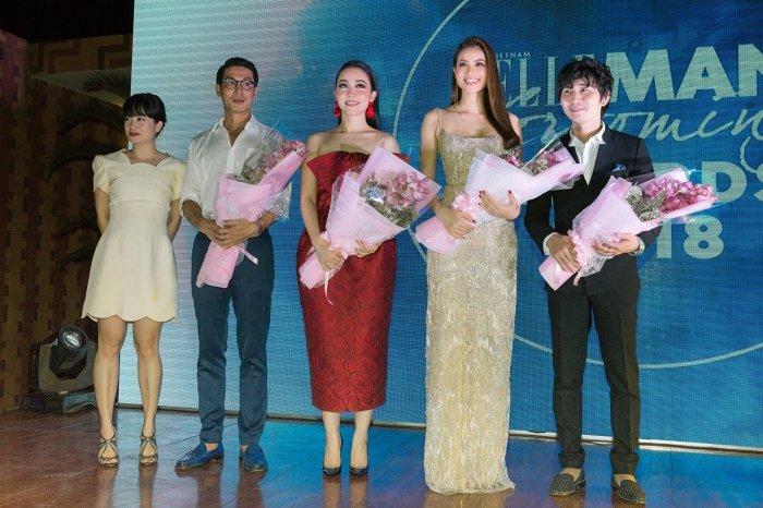 Hoa hau Pham Huong dien vay hai day sexy khoe nguc day hinh anh 8