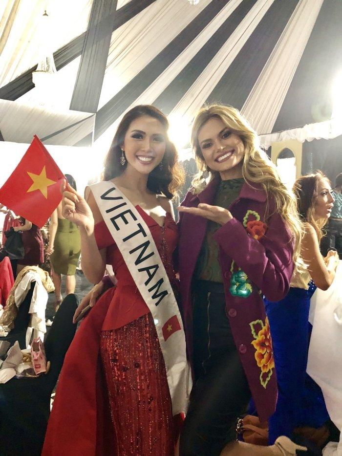 Tuong Linh doat giai 'Hoa hau duoc yeu thich nhat' tai Miss Intercontinental 2017 hinh anh 7