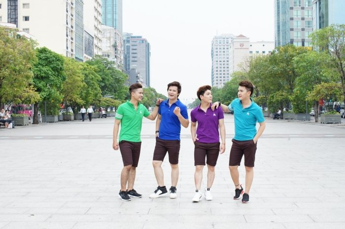 Nhom Vmusic co vu het minh cho doi tuyen bong da U23 Viet Nam hinh anh 7