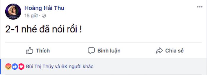Nguoi dep Hoa hau gay phan no khi noi ve ket qua tran dau U23 Viet Nam hinh anh 1