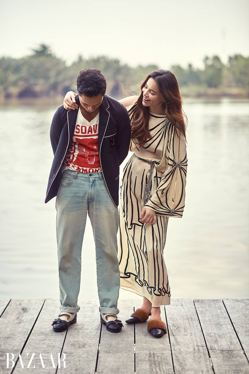 Chi co ben Kim Ly, Ho Ngoc Ha moi diu dang nu tinh den nhu the nay hinh anh 1