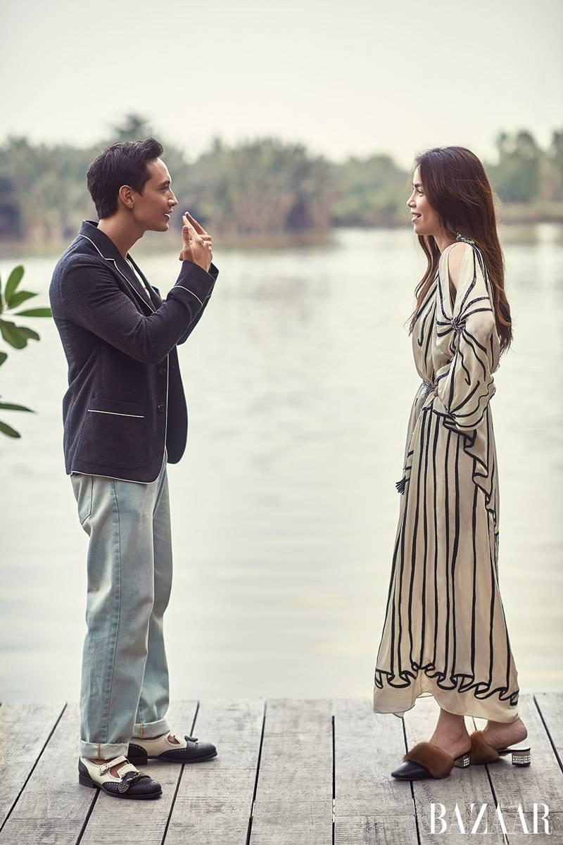 Chi co ben Kim Ly, Ho Ngoc Ha moi diu dang nu tinh den nhu the nay hinh anh 8