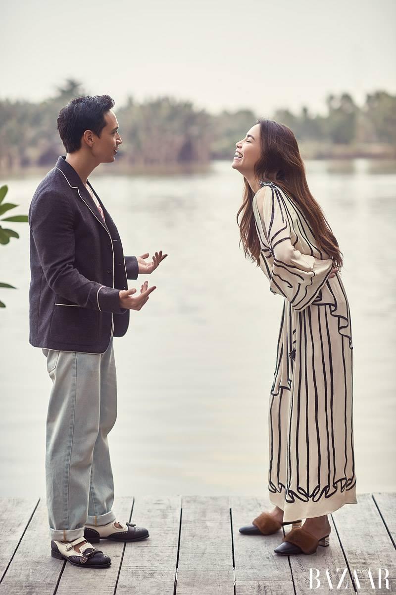 Chi co ben Kim Ly, Ho Ngoc Ha moi diu dang nu tinh den nhu the nay hinh anh 9