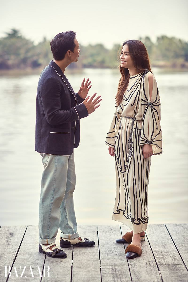 Chi co ben Kim Ly, Ho Ngoc Ha moi diu dang nu tinh den nhu the nay hinh anh 10
