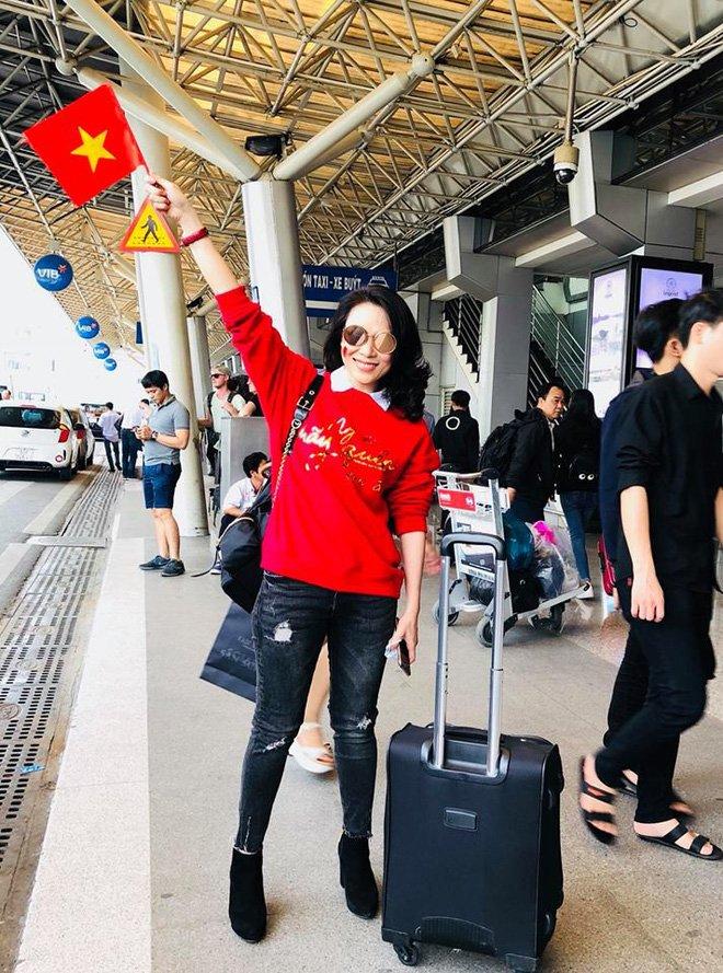 Cach ung ho U23 Viet Nam sieu dang yeu cua My Tam hinh anh 1