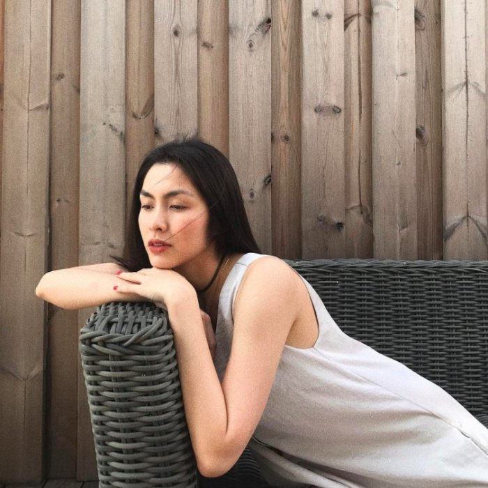 Gai hai con Tang Thanh Ha khoe nhan sac quyen ru khong the roi mat hinh anh 10