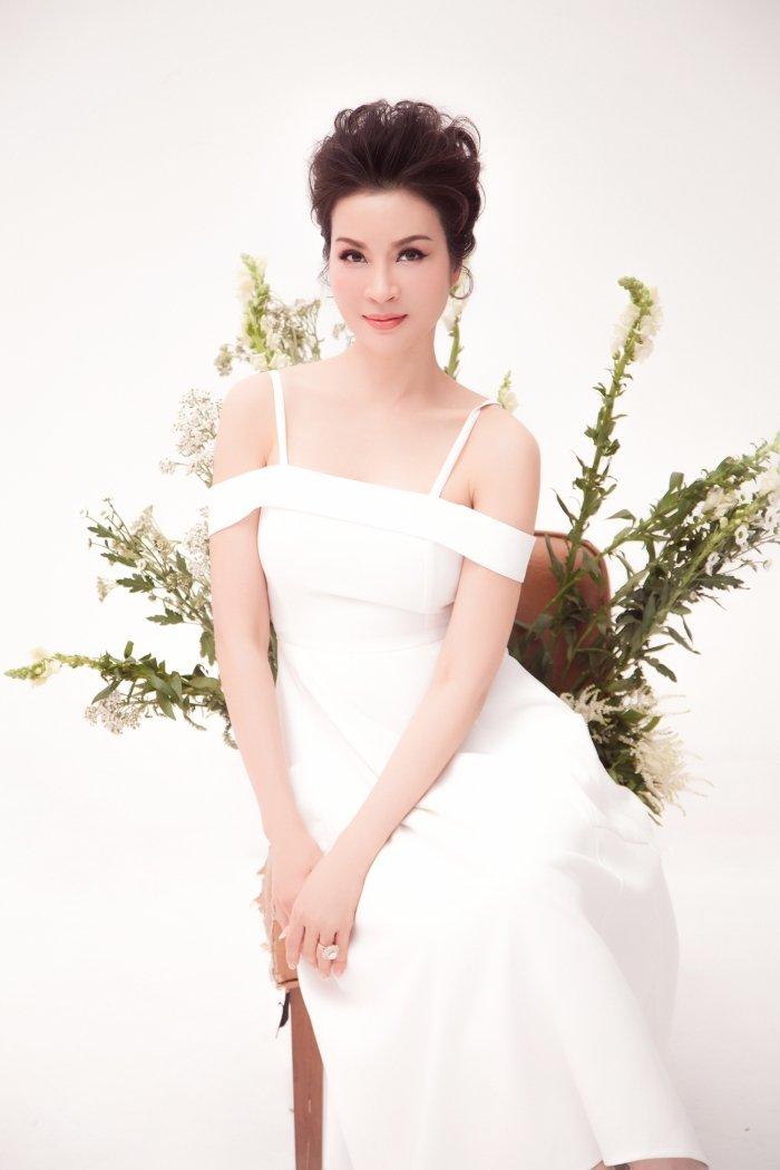 MC Thanh Mai tro lai Viet Nam sau nhung ngay don tet cung con gai o My hinh anh 1