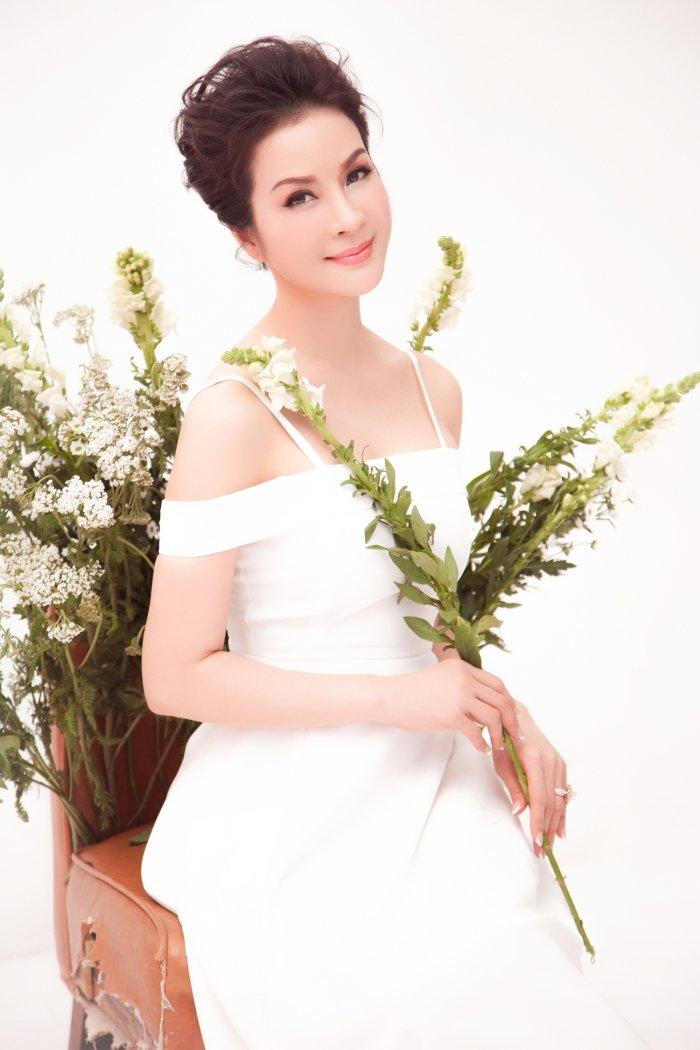 MC Thanh Mai tro lai Viet Nam sau nhung ngay don tet cung con gai o My hinh anh 3