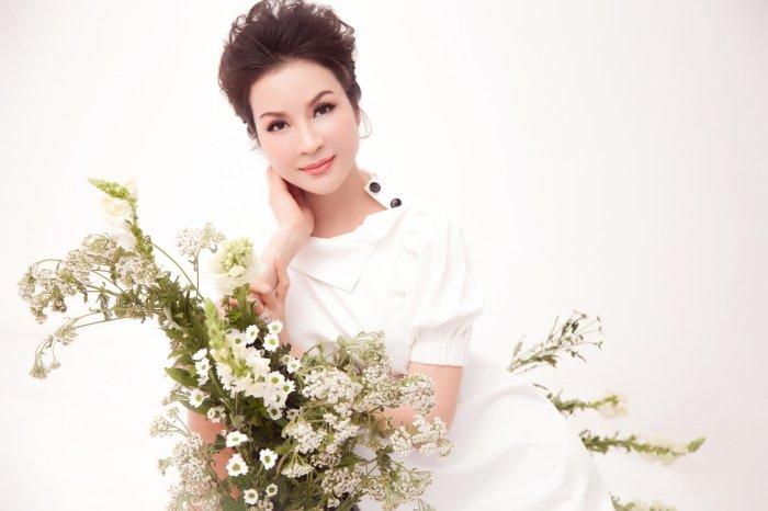 MC Thanh Mai tro lai Viet Nam sau nhung ngay don tet cung con gai o My hinh anh 6