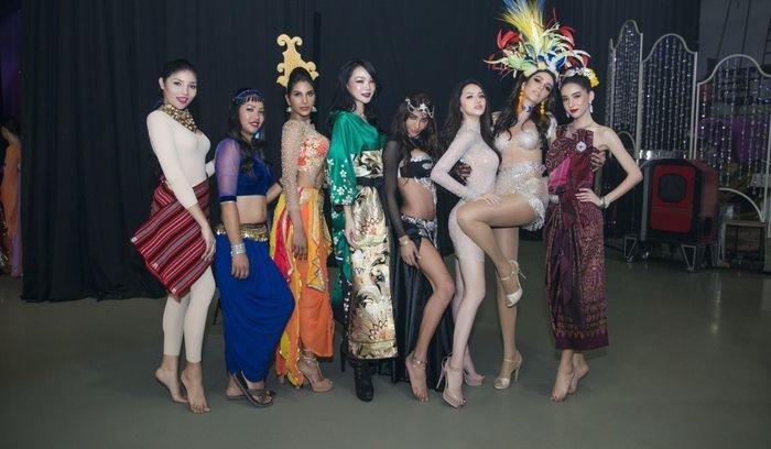 Huong Giang Idol 'lan at' dan my nhan chuyen gioi nho tao dang qua cao tay hinh anh 3