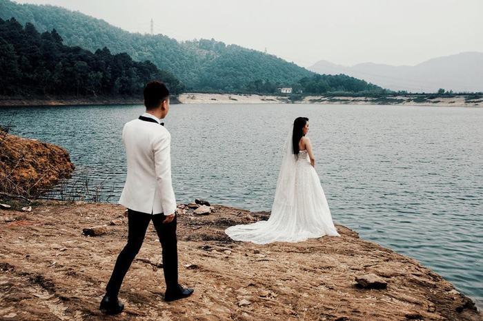 Kết quả hình ảnh cho ảnh cưới khắc việt thanh thảo