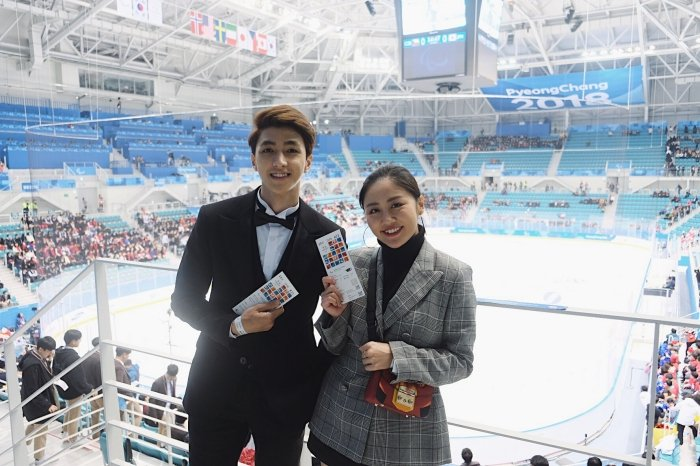 Van Mai Huong - Binh An tay trong tay den gap 'than chet' Lee Dong Wook hinh anh 9