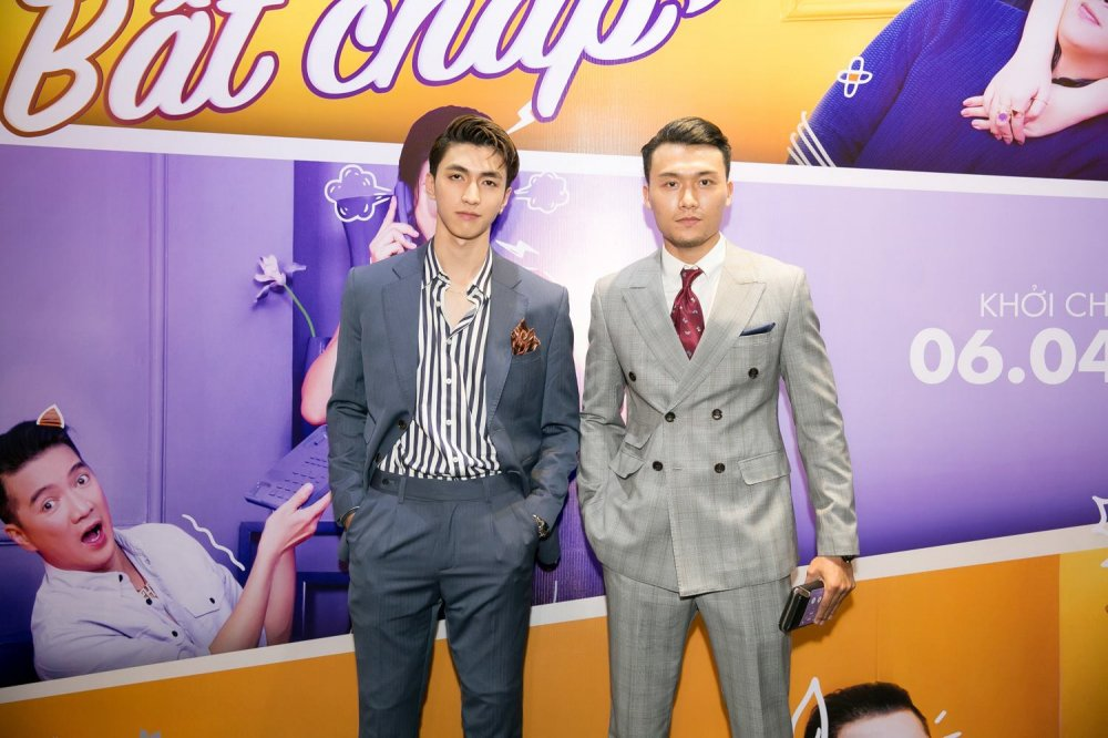 Binh An, Hoai Lam, Ali Hoang Duong do ve dien trai trong su kien hinh anh 6