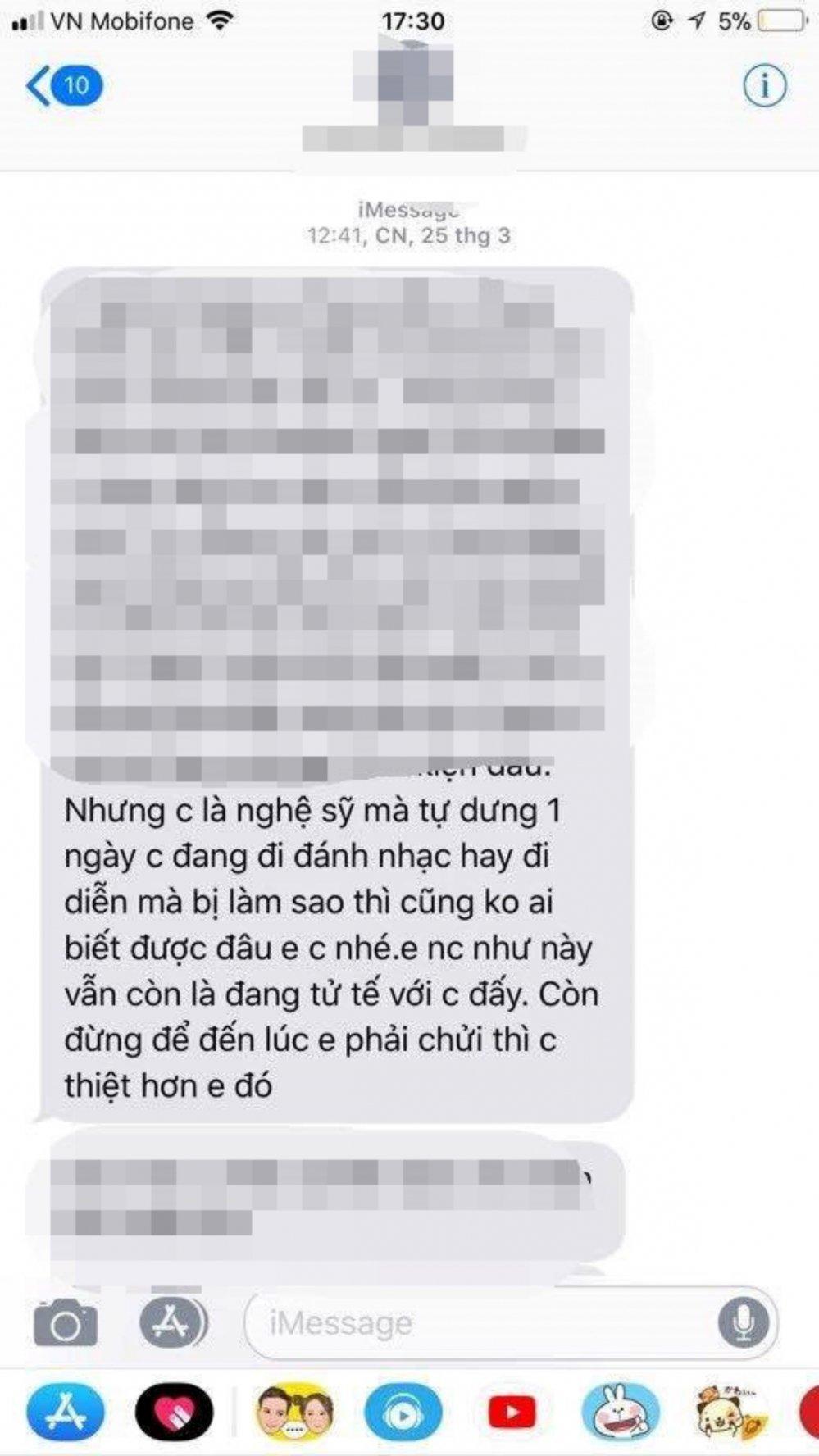 Vo Hoang Yen: 'Toi luu tin nhan va ghi am cuoc goi ham doa' hinh anh 2