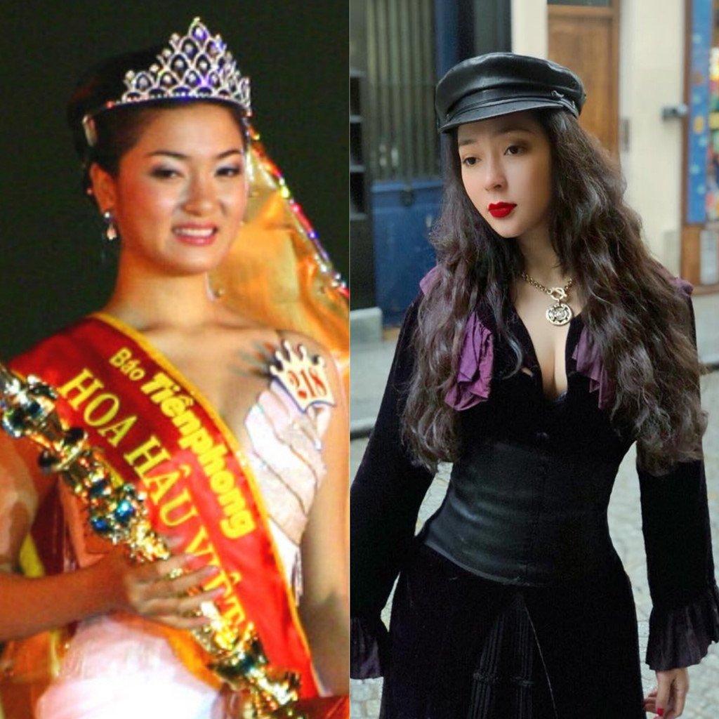 Ky Duyen, Mai Phuong Thuy thay doi the nao sau khi dang quang Hoa hau? hinh anh 8