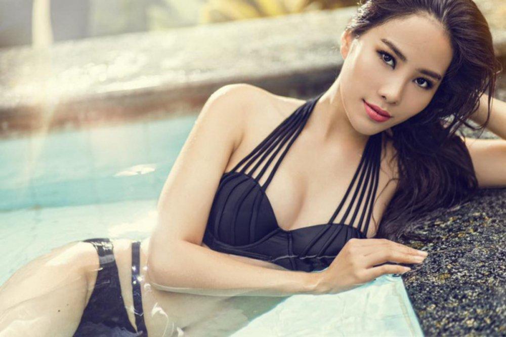 Do anh bikini nong bong cua Nha Phuong, Nam Em va Que Van hinh anh 8
