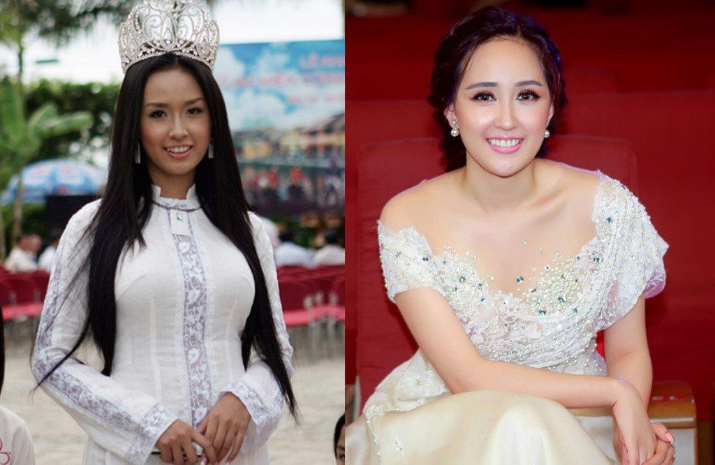 Ky Duyen, Mai Phuong Thuy thay doi the nao sau khi dang quang Hoa hau? hinh anh 6