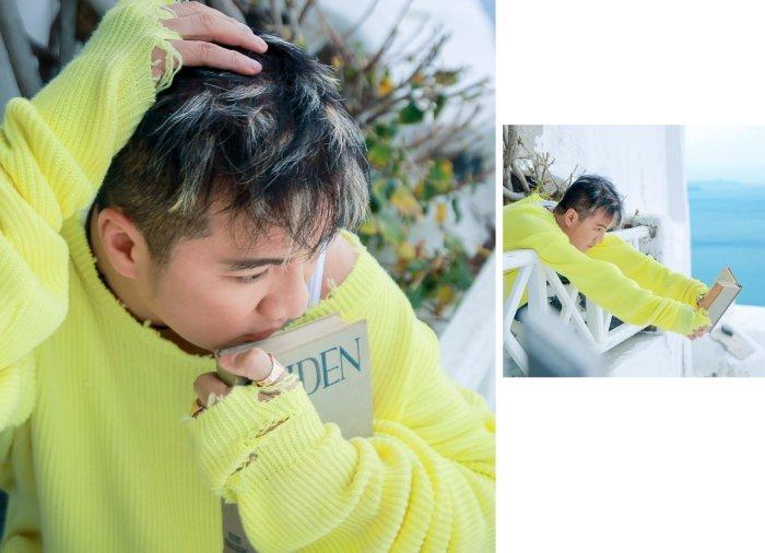 Dam Vinh Hung tung bo anh tai Santorini khien fan me met hinh anh 6