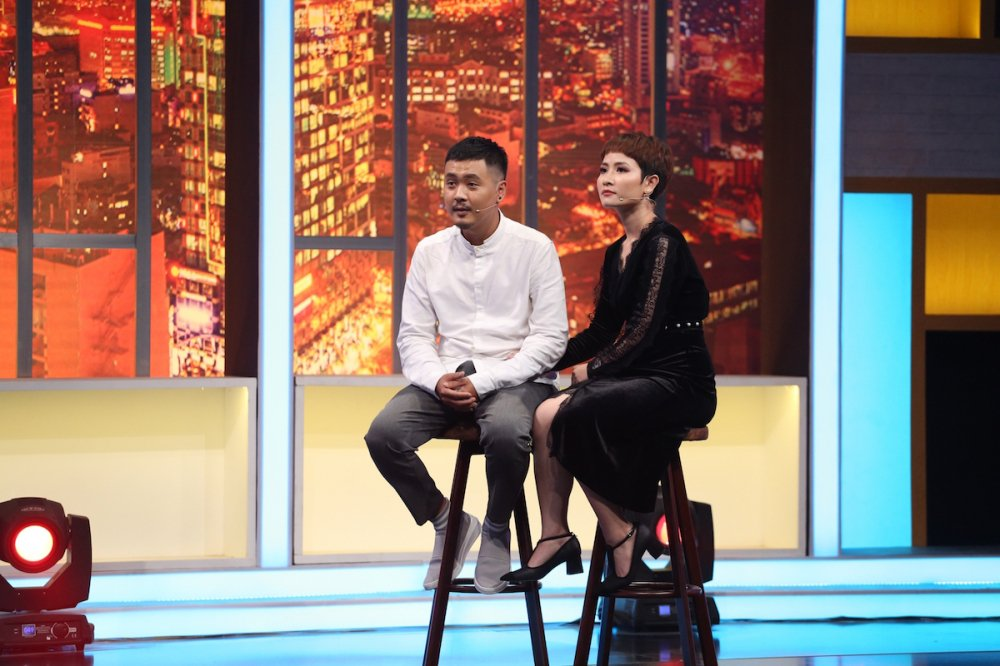 Video: S.T - Le Duong Bao Lam 'tha thinh' ngay tren song truyen hinh hinh anh 5
