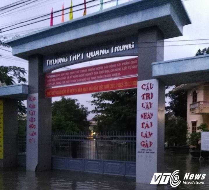 Hang nghin ho dan Binh Dinh phai di doi do lu du hinh anh 7